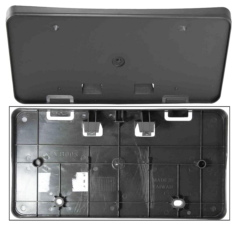 Amazon.com: APDTY 52114-06160 License Plate Plastic Frame Holder ...