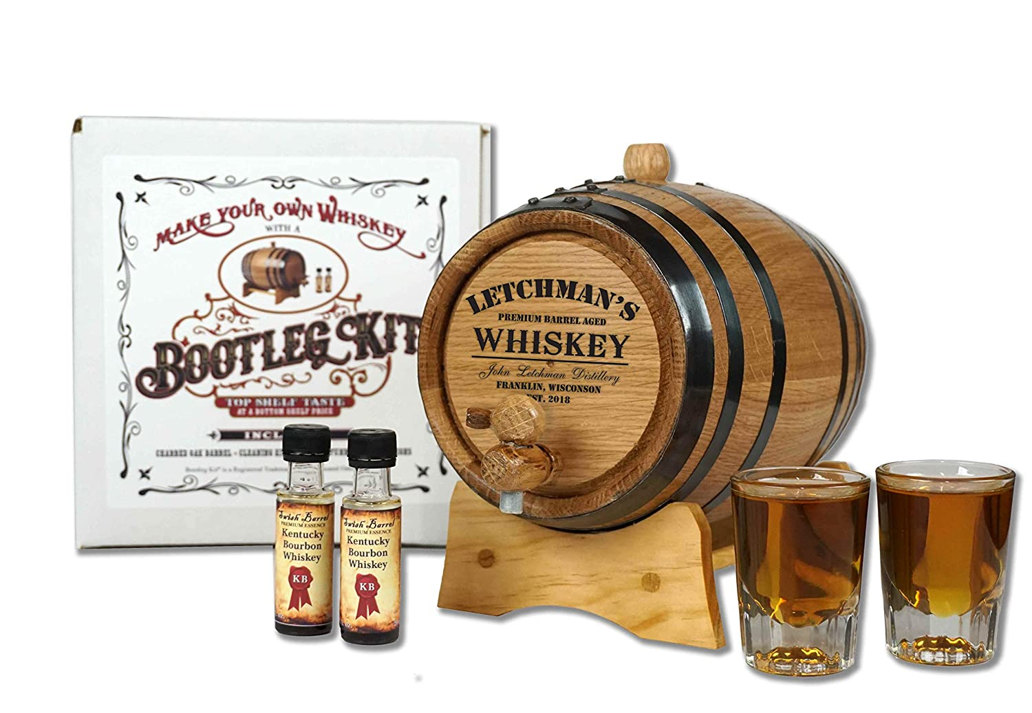 Personalized Bootleg Kit Barrel Aged