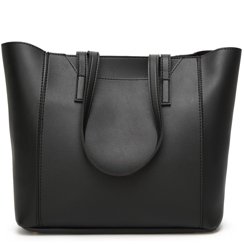 Amazon.com: BNWVC Women Top Handle Handbags Tote Purse 2 Piece Set ...