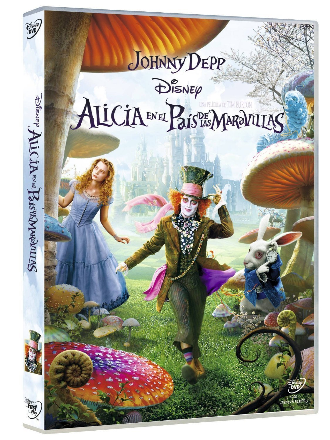 Alicia En El País De Las Maravillas Tim Burton Import Movie European Format Zone 2 2010 Crispin Movies Tv