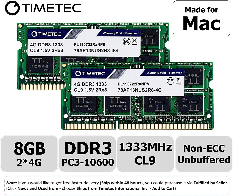 Tested with 2009 2010-2012 Mac Pro 4x 8GB Hynix 32GB Kit 1333MHz RAM