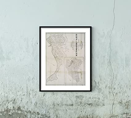 Map Of New York For Sale.Amazon Com 1836 Map York Executors Sale Property Belonging To The