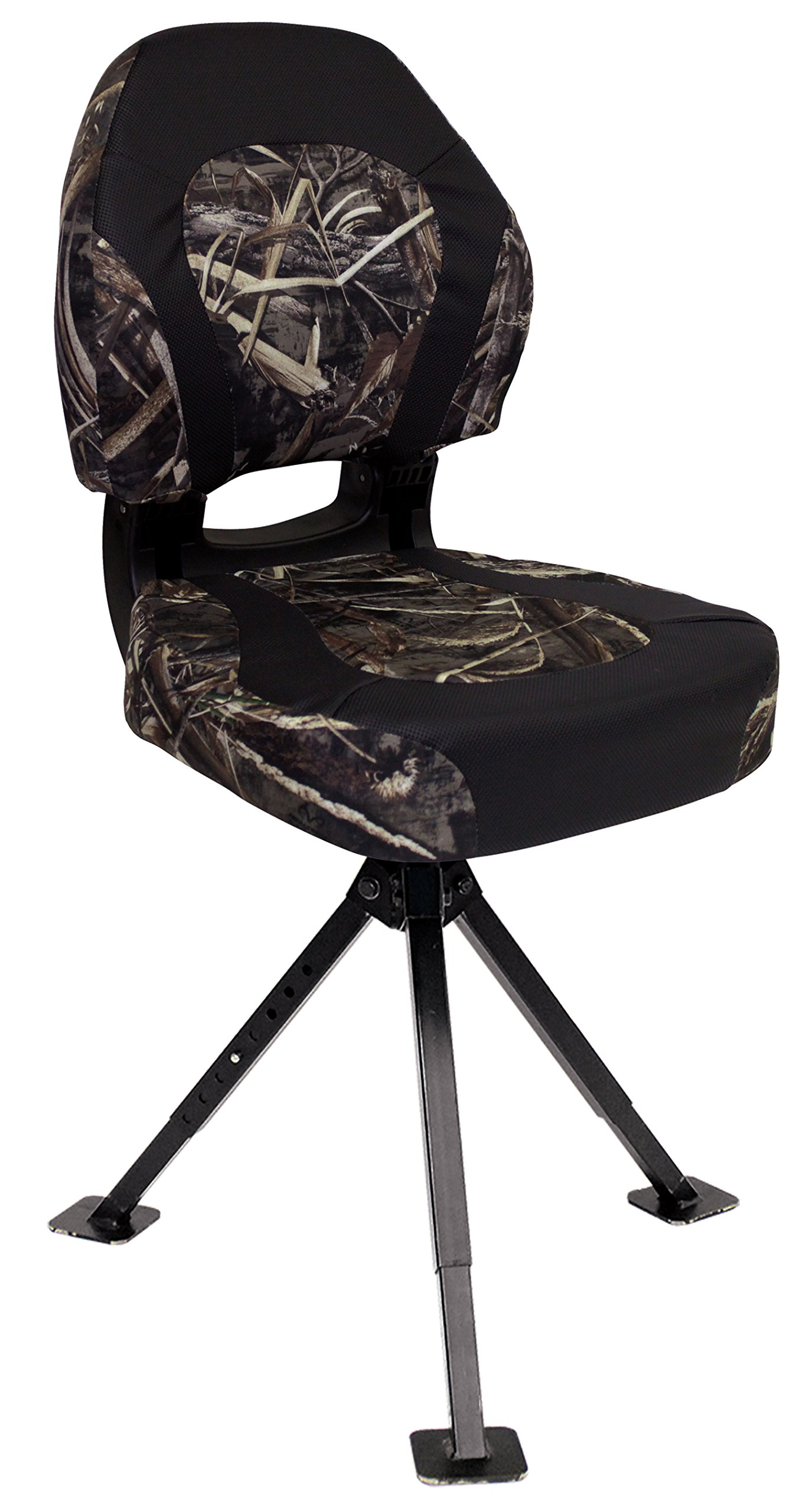 Wise Trailhawk Seat with Tripod 360 Stand, Realtree Max 5 Camo