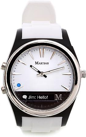 Amazon.com: Reloj inteligente con notificador de Martian ...