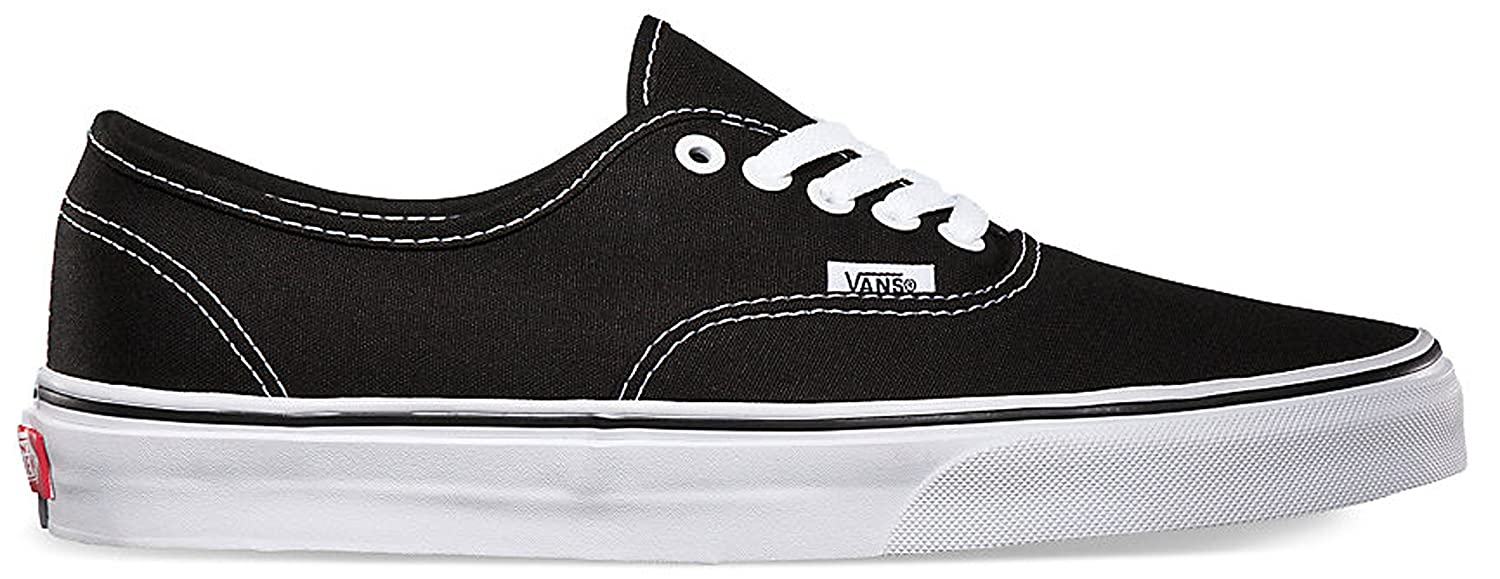 Vans Men's Authentic(Tm) Core Classics B00U1W88G0 11.5 M M US Women / 10 M M US Men|Black/White 70afee
