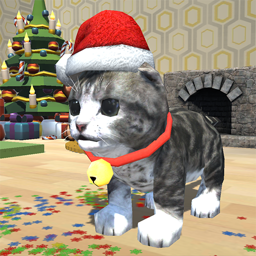 Cute Kitten Christmas Pet -