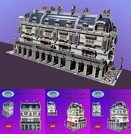 Amazon Lego Moc Custom Modular Rivoli Arcade Building Block