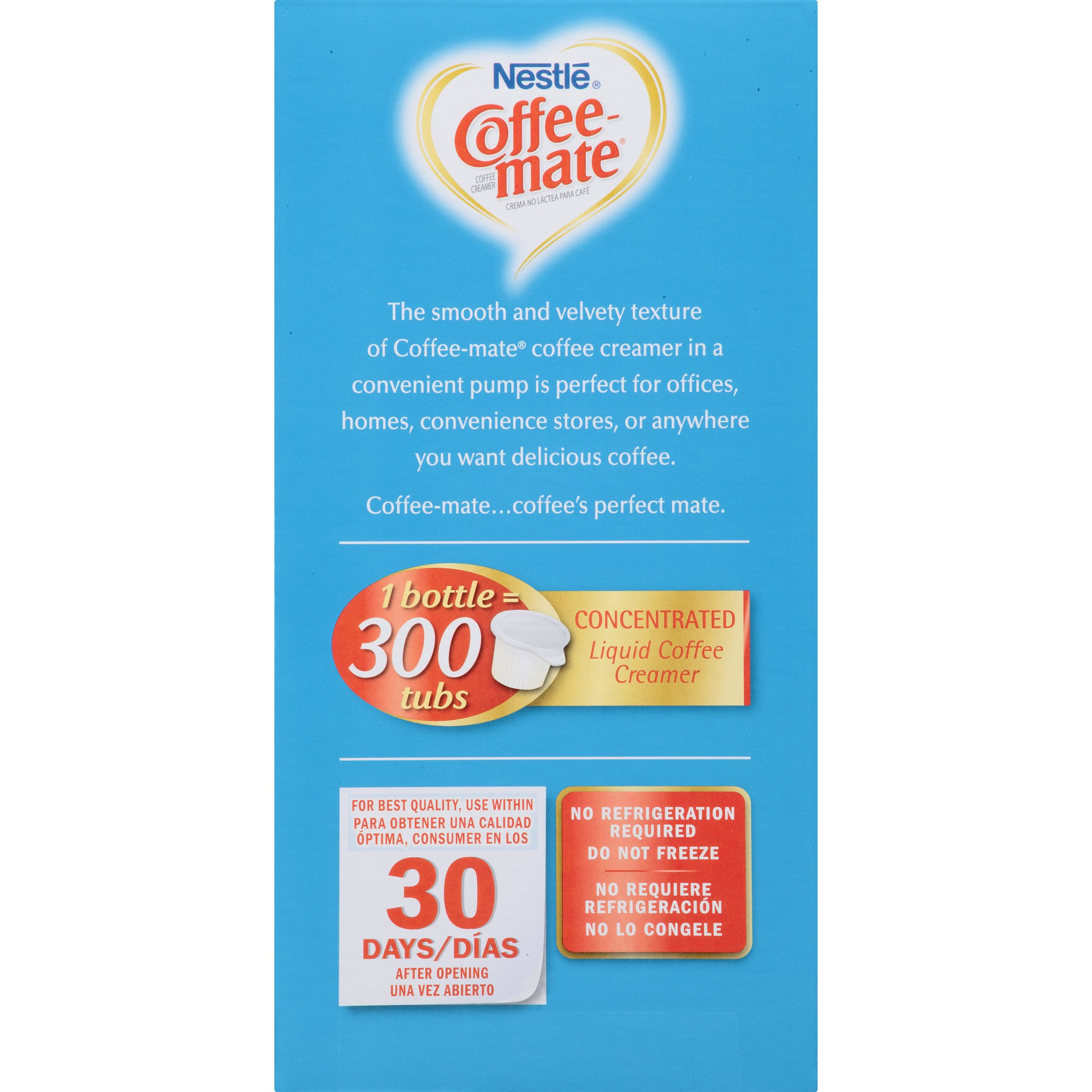 Nestle Coffee-mate Coffee Creamer, French Vanilla,  Liquid Pump Bottle, 50.7 Fl. Oz (Pack of 1) by Nestle Coffee Mate (Image #4)