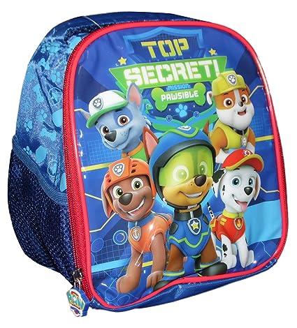 Niños Paw Patrol Bolsa para almuerzo mochila 22 x 19 x 12 cm