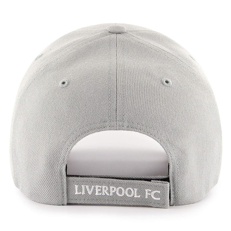0156eb9706e Liverpool FC 47 Autumn-Winter 2017 Mens Grey Script Cap LFC Official Store   Amazon.co.uk  Clothing