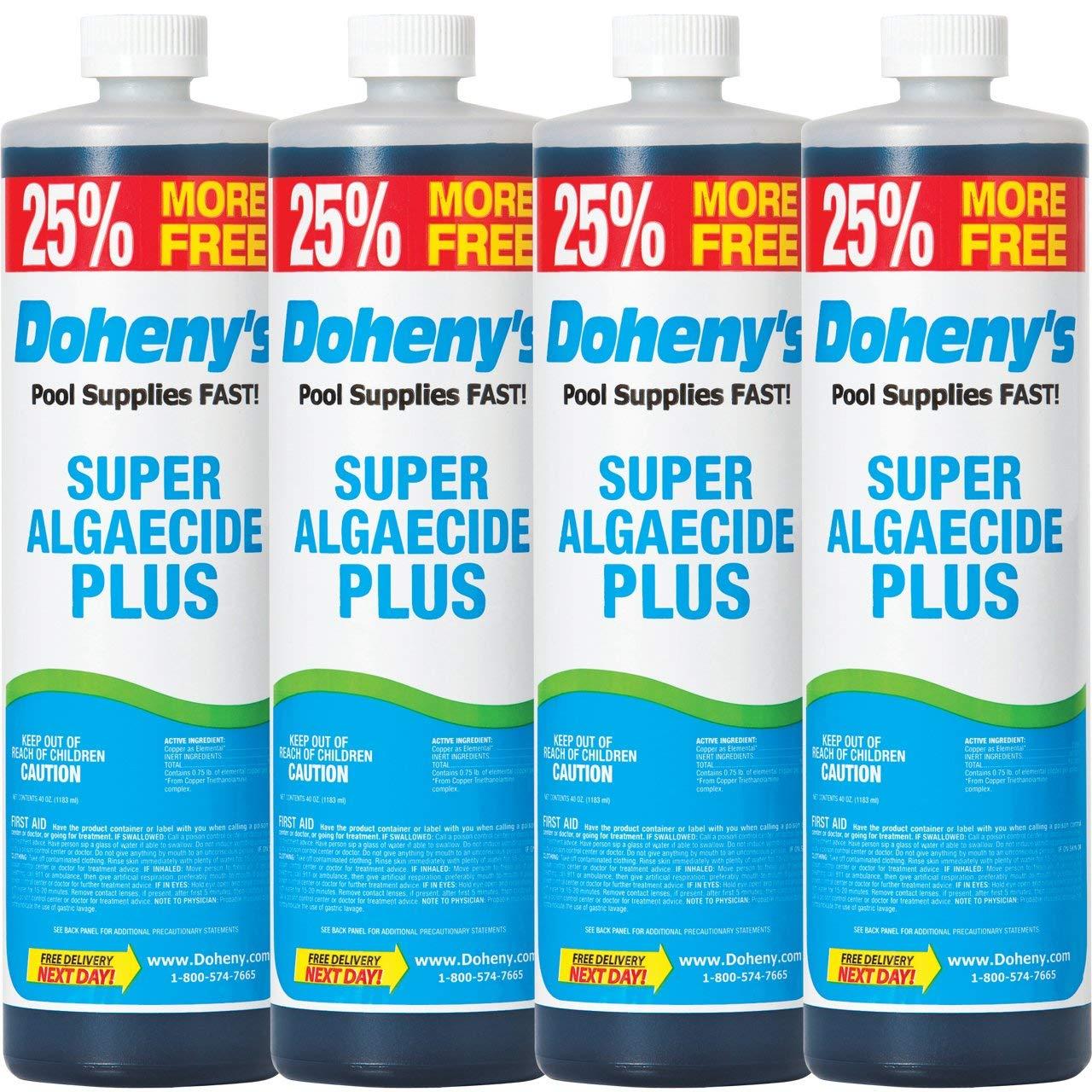 Doheny's Super Algaecide Plus (4) 1 Qt. + 32 oz. Free! by Doheny's