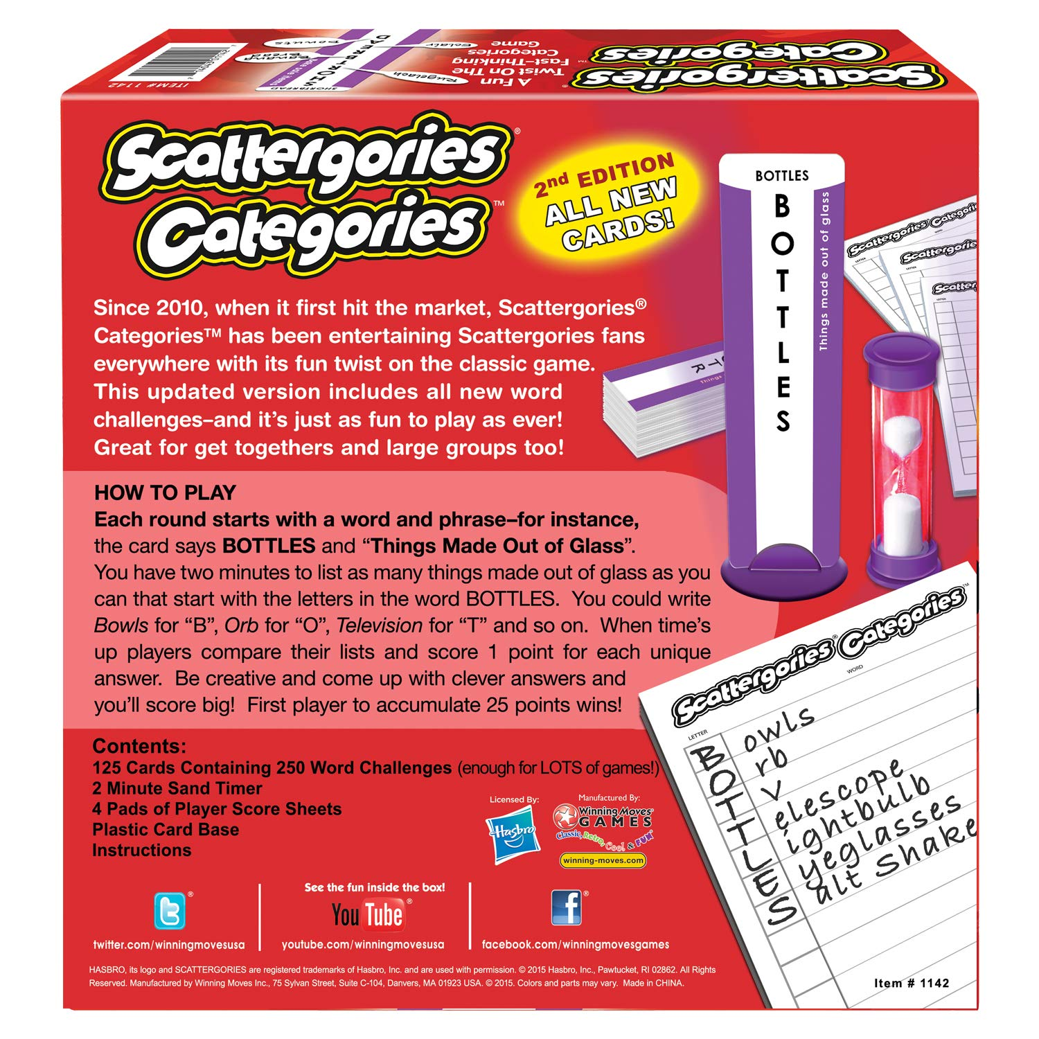 Amazon.com: Scattergories Categories - A Fun Twist on the Fast ...