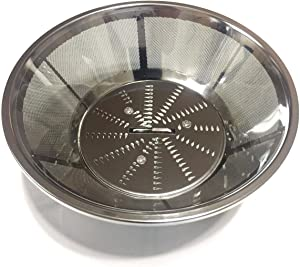 PurrsianKitty Replacement Stainless Steel Blade and Basket Filter for Breville BR-1 JE95XL, JE98XL, BJE200XL Juicers ONLY