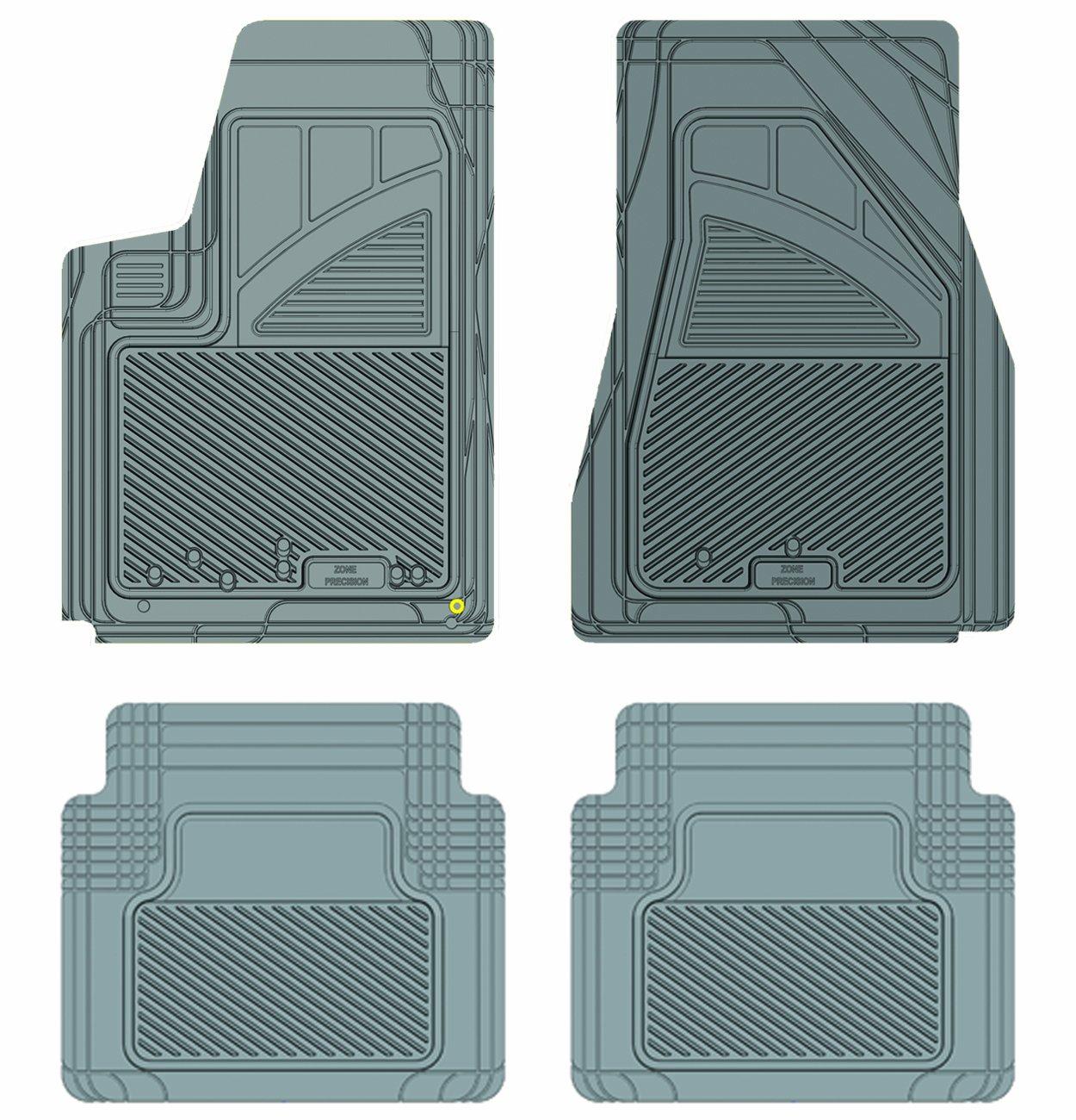 Koolatron Pants Saver Custom Fit 4 Piece All Weather Car Mat for Select Chrysler 300 Models Black