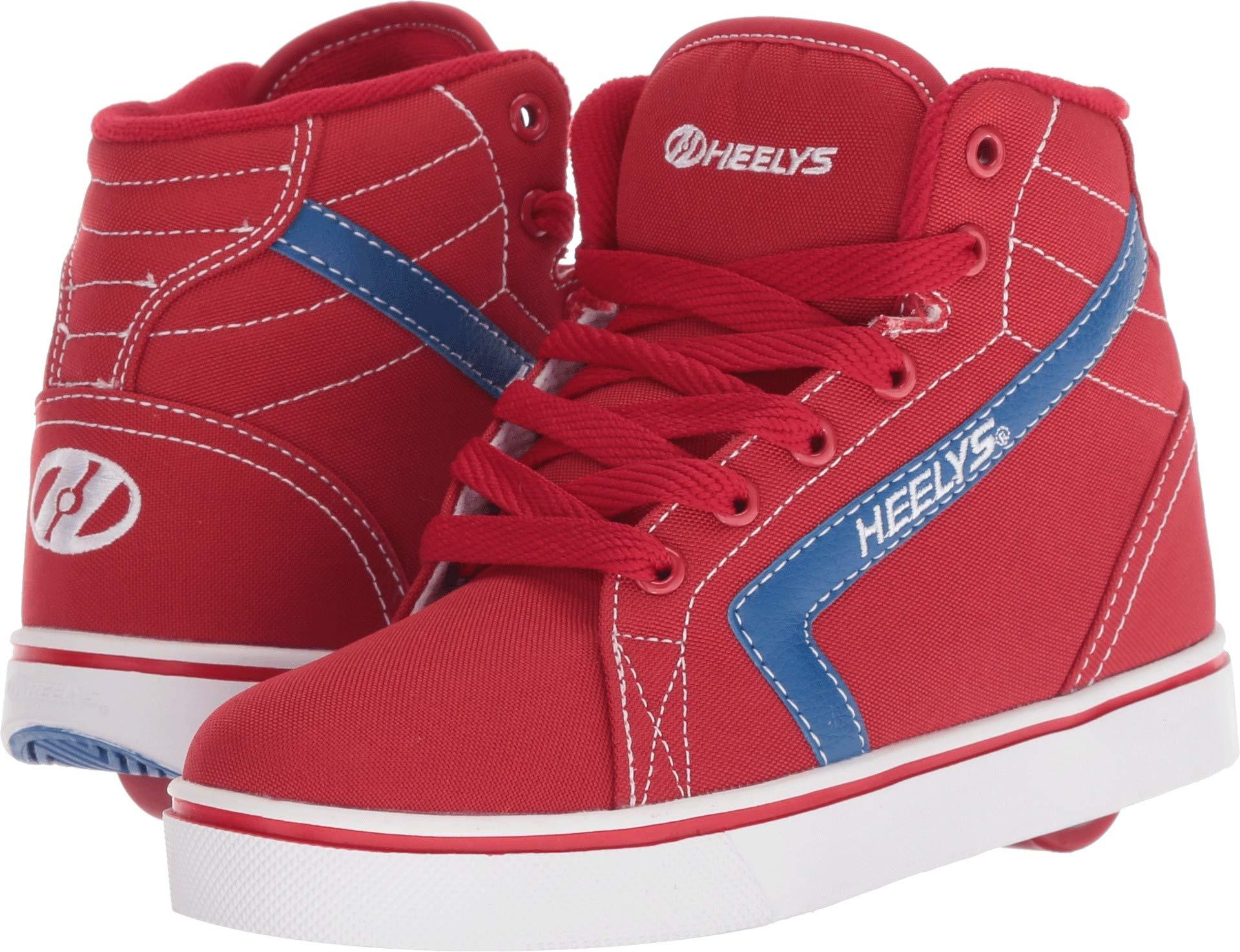 Heelys Boy's GR8R Hi (Little Kid/Big Kid/Adult) Red/Royal 7 M US M