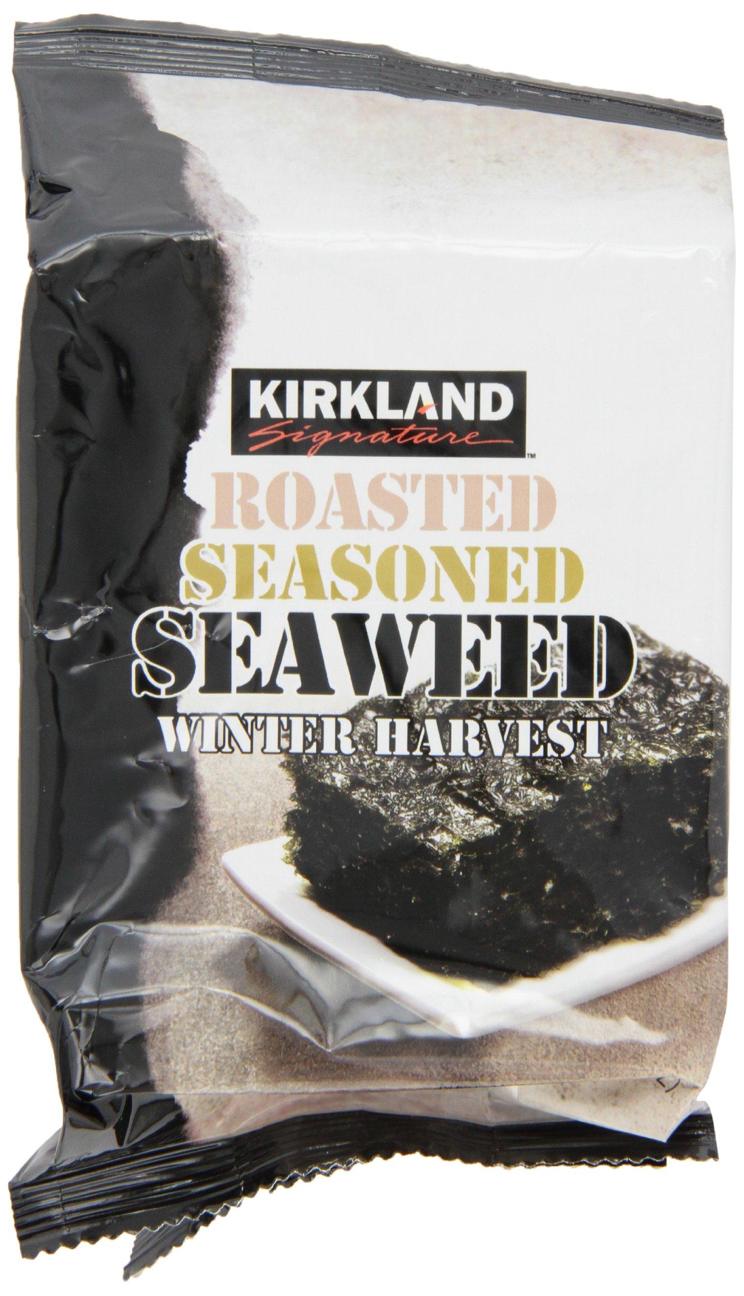 Kirkland Roasted Seaweed-0.6 oz, 10 ct