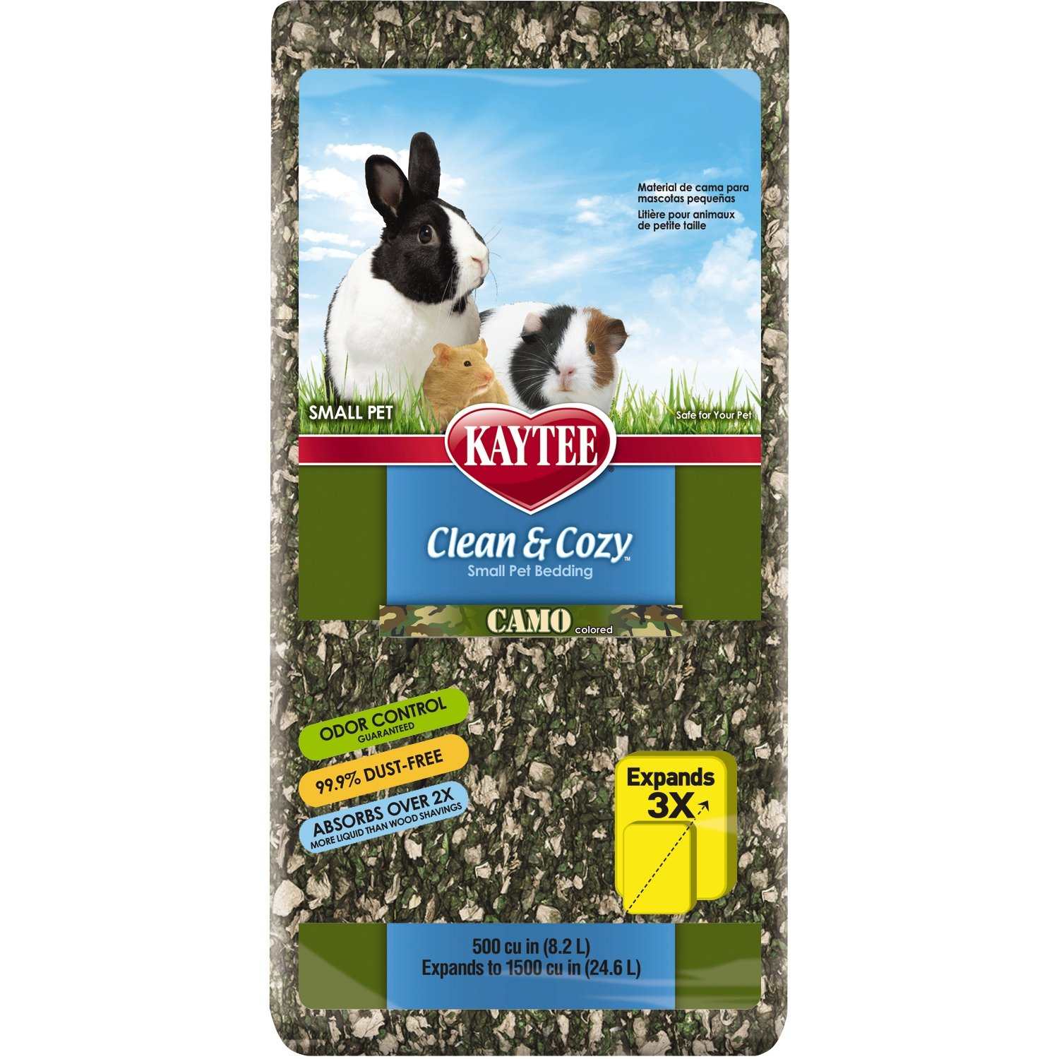 Kaytee Clean & Cozy Colored Small Animal Bedding 500 Cubic Inch 100513213