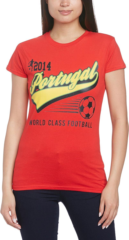 Football Fan Camiseta para Mujer