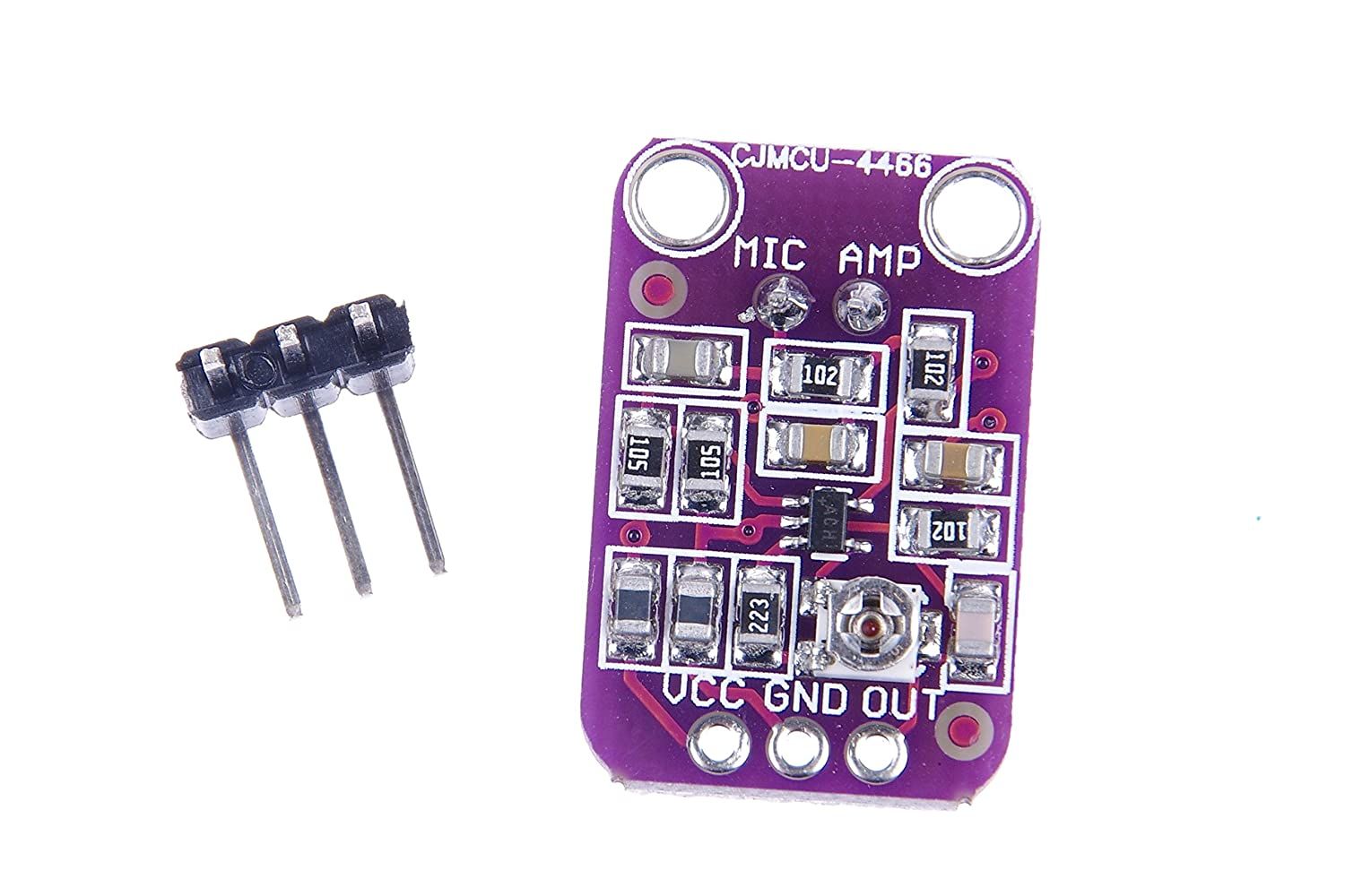Knacro Max4466 Electret Microphone Amplifier Adjustable Overview Adafruit Breakout Learning Gain For Arduino Home Audio Theater