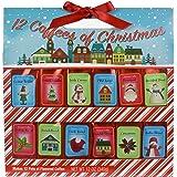 Holiday 12 Gourmet Coffee Of Christmas   Creme Brulee Vanilla Irish Cream Mild Roast Hazelnut Breakfast Blend Italian…