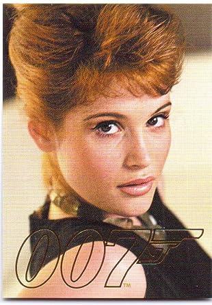 Agent Fields James Bond 50th Anniversary Gold Gallery Card Gg12
