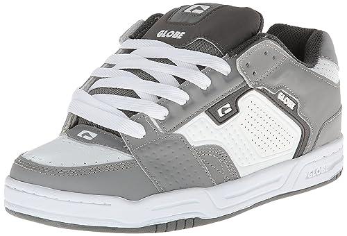 Globe - Zapatillas de Skateboarding para Hombre Gris Gris, Blanco: Amazon.es: Zapatos y complementos