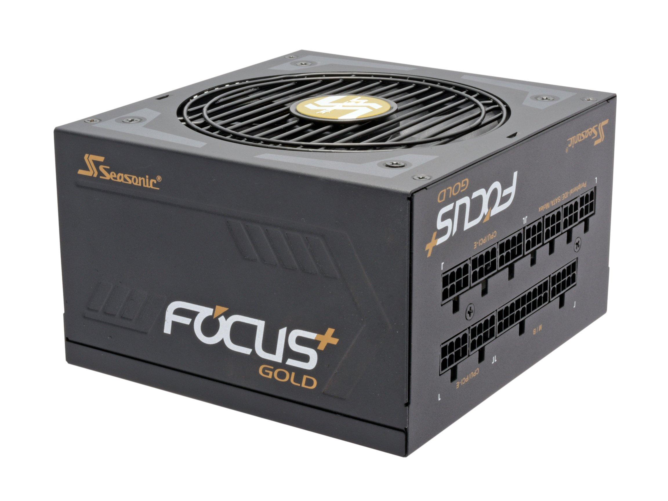 Seasonic FOCUS Plus Series SSR-750FX 750W 80+ Gold ATX12V & EPS12V Full Modular 120mm FDB Fan Compact 140 mm Size Power Supply by Seasonic (Image #1)