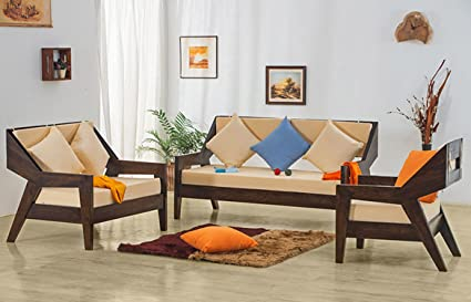 High Quality Js Home Decor Solid Rosewood/Sheesham Wood Sofa Sets For Living Room 3+2