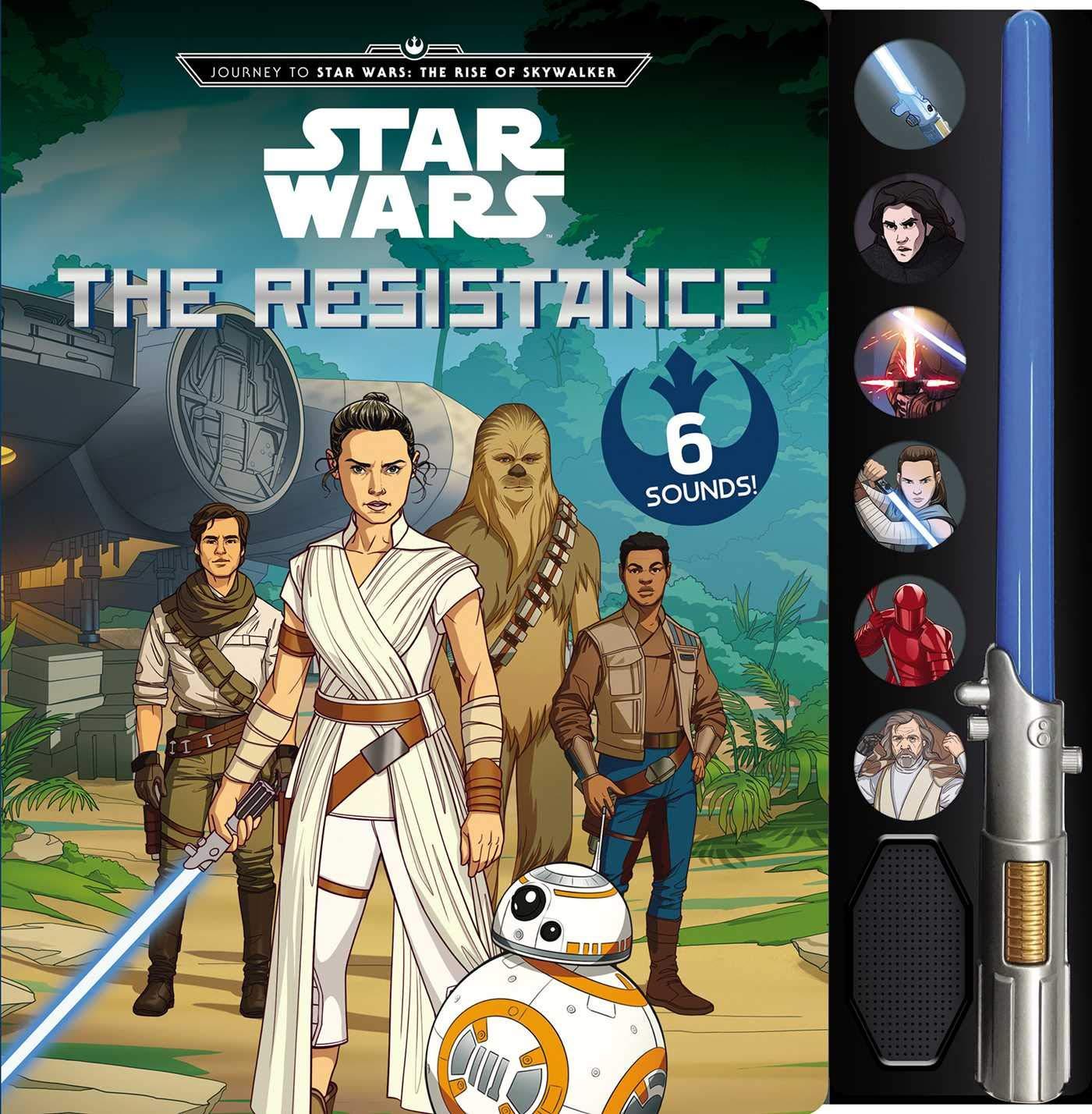 Journey To Star Wars The Rise Of Skywalker The Resistance Lightsaber Sound Books Editors Of Studio Fun International 9780794444211 Amazon Com Books