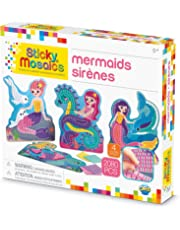 "The Orb Factory Sticky Mosaics Mermaids Arts and Crafts (2080 Piece), Blue/Yellow/Orange/Purple, 12"" x 2"" x 10.75"""