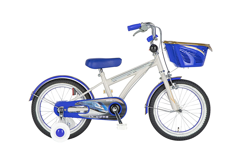 春夏新作モデル Sinanen Bike(シナネンサイクル) 幼児自転車 幼児自転車 新幹線かがやき 18SKS160KIDSかがやき ブルー B078K615TX 16型 ブルー B078K615TX, 酒々井町:4b2daec8 --- casemyway.com