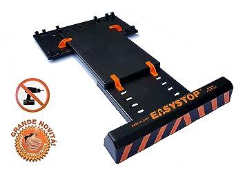 EASYSTOP Tope de rueda para garaje - Asistente de aparcamiento - Ajustable: Amazon.es: Coche y moto