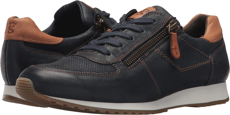 Paul Green Womens Sandy Sneaker B077MG3XTH 5.5 B(M) US|Ocean Cuoio Leather