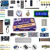 Quad Store(TM) - Super Starter Kit for Arduino Uno R3 (Beginner's Kit)