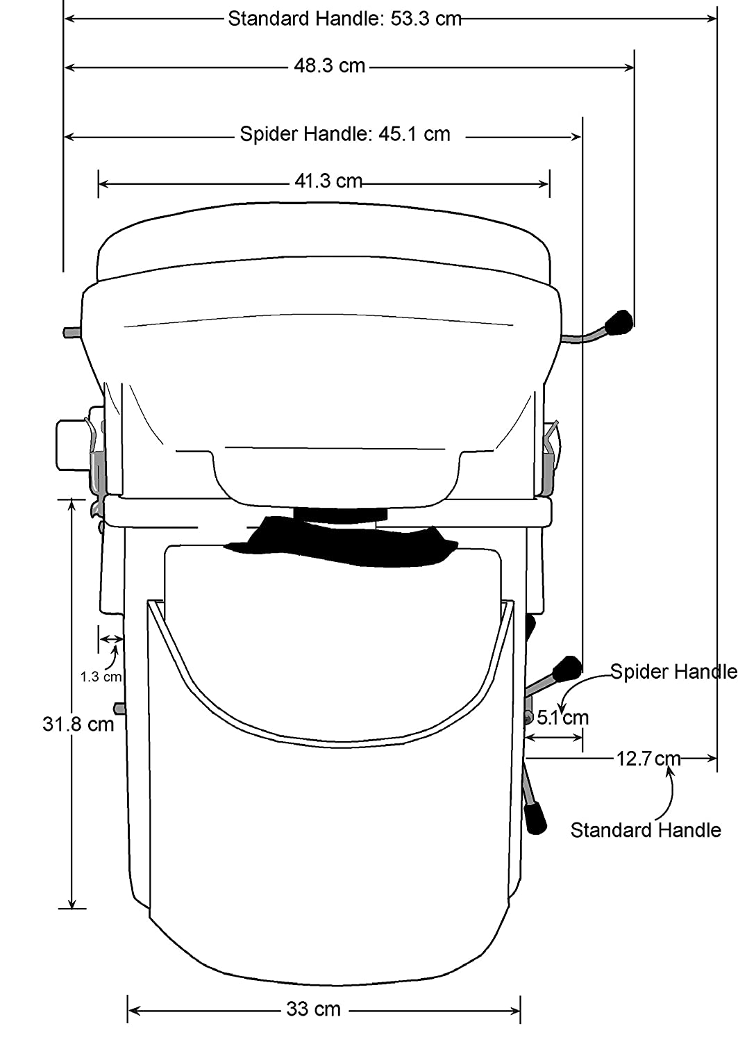 Natures Head composting toilet with standard handle: Amazon.es: Bricolaje y herramientas