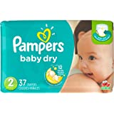 Pampers Baby Dry Diapers Size 2, 37 Count