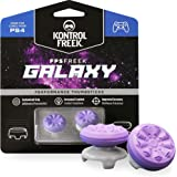 KontrolFreek FPS Freek Galaxy Purple for PlayStation 4 (PS4) Controller | Performance Thumbsticks | 1 High-Rise, 1 Mid-Rise | Purple