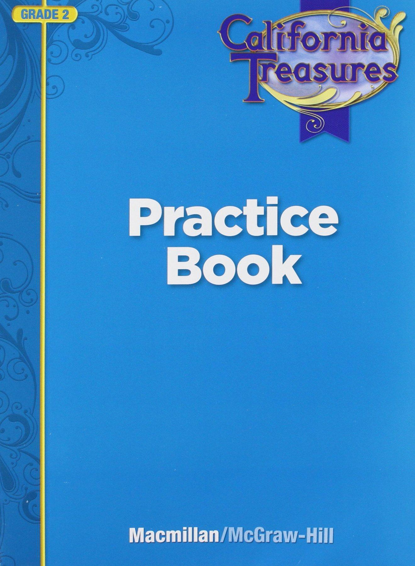 Worksheet Practice Book Grade 2 california treasures practice book grade 2 macmillan mcgraw hill 9780022018559 amazon com books