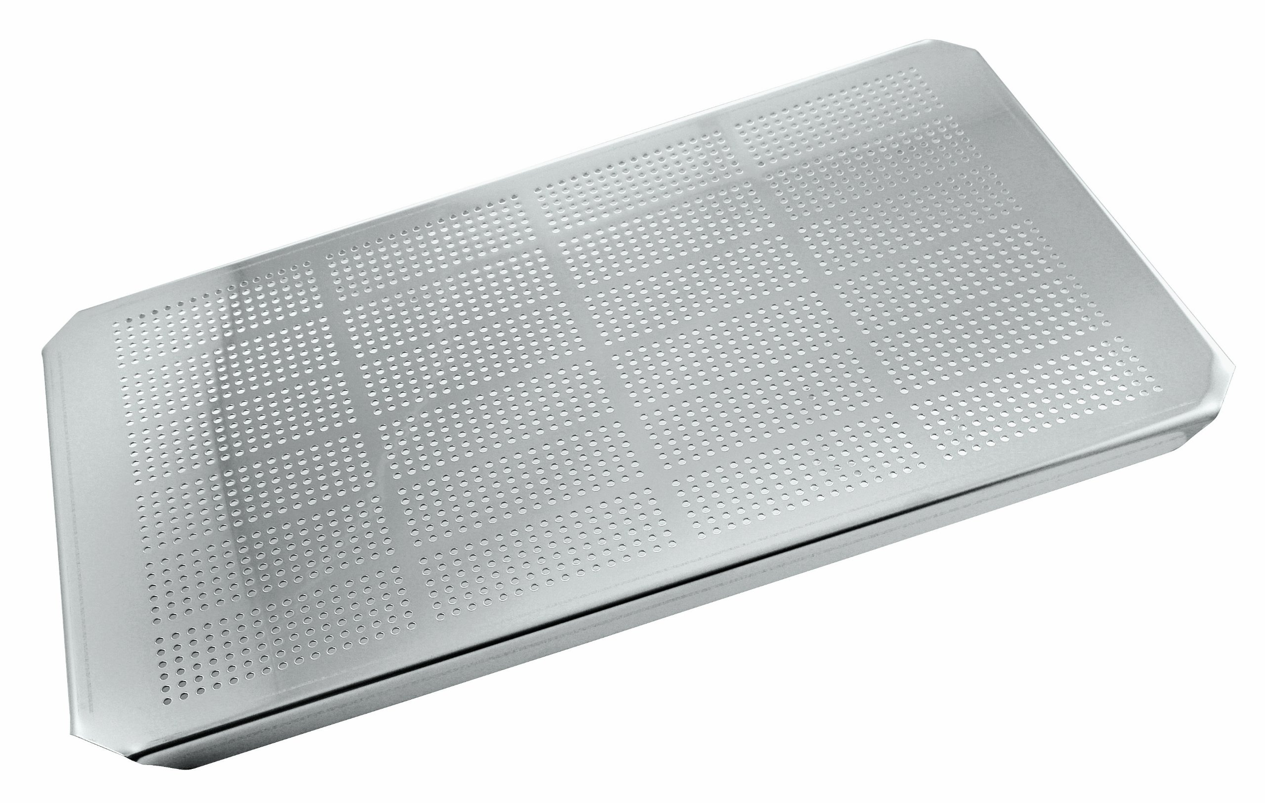 Paderno World Cuisine 12 1/2 inches by 10 1/2 inches Stainless-steel Drainer Plate for Hotel Pan - 1/2