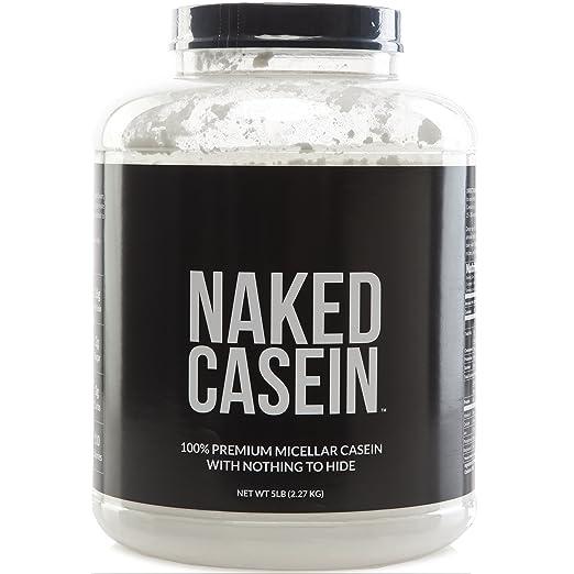 NAKED CASEIN – 5LB 100% Micellar Casein Protein