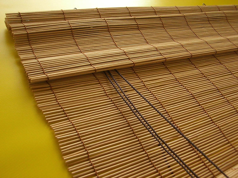 Bambusrollo Bambus Raffrollo Natur Breite 60 140 Cm Lange 160 Und