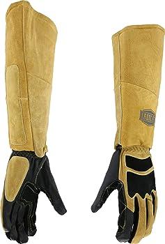 Ironcat Leather Stick Welding Gloves