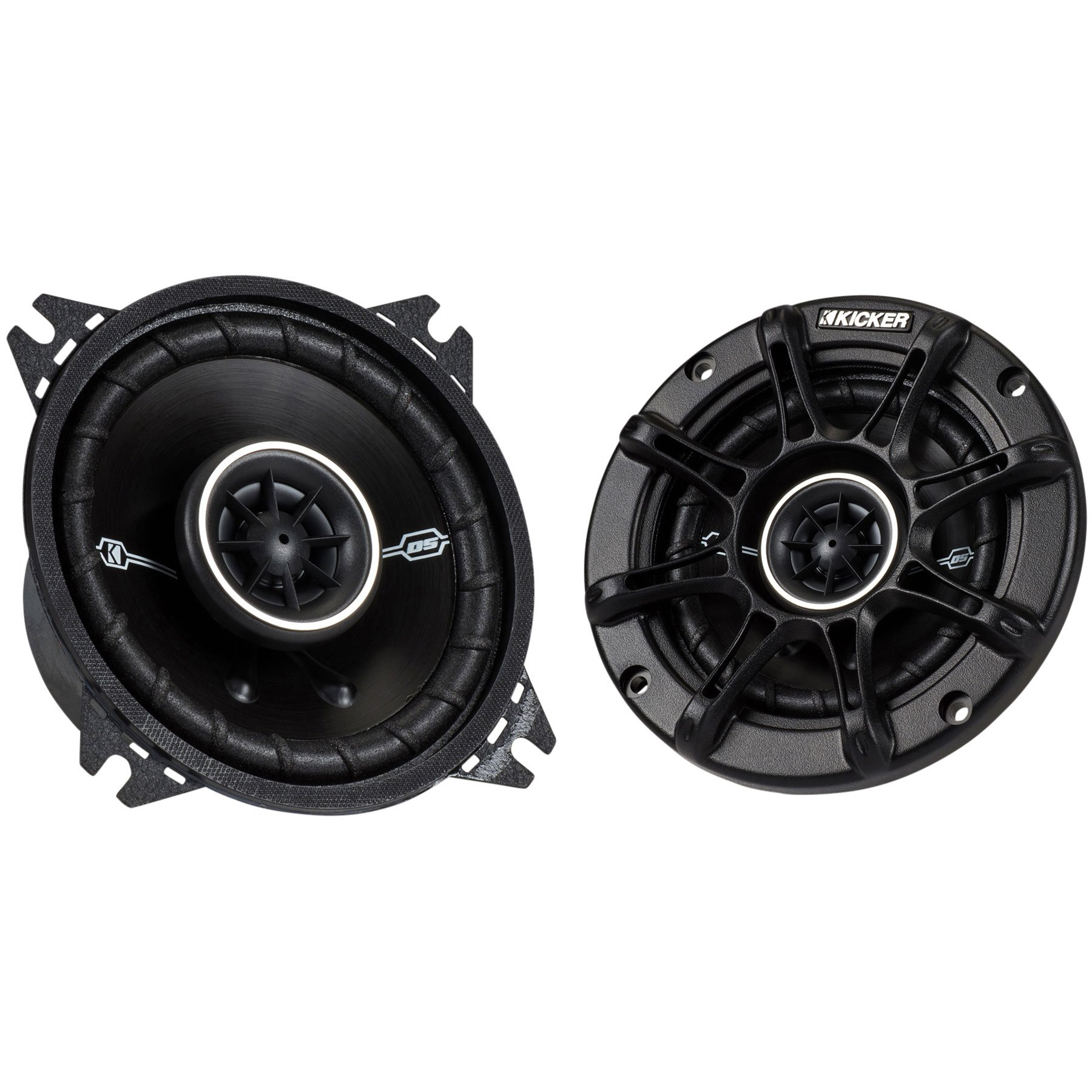 Best Rated In Car Audio Speakers Subwoofers Helpful Customer 2015 Ford F 150 Kicker Subwoofer 41dsc44 4 2 Way Speaker Pair Product Image