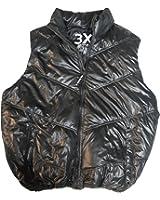Rocawear Mens Vest Jacket Black Size 3X