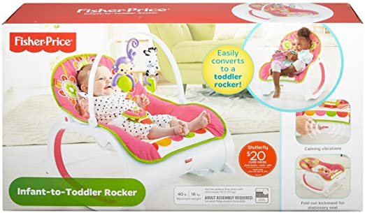 Amazon Fisher Price Infant To Toddler Rocker Floral Confetti