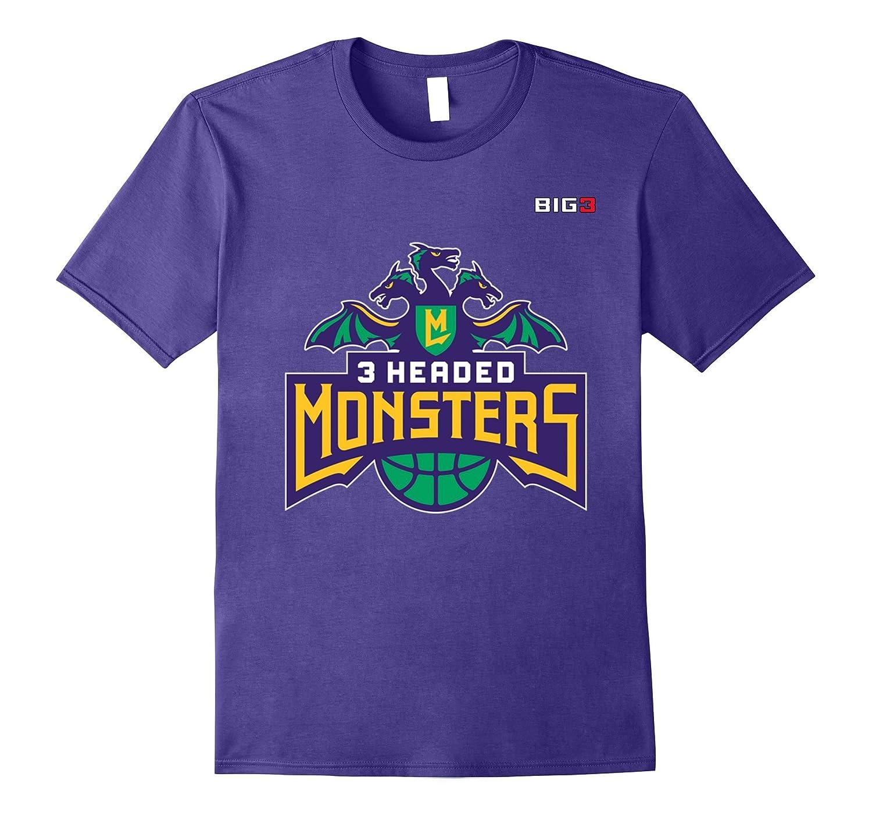 3 Headed Monsters - Big 3 basketball shirt-PL