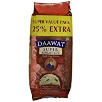 Daawat Super Basmati, 1kg with 25% Extra