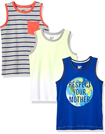824d29f27e582 Spotted Zebra Boys  3-Pack Sleeveless Tank Tops