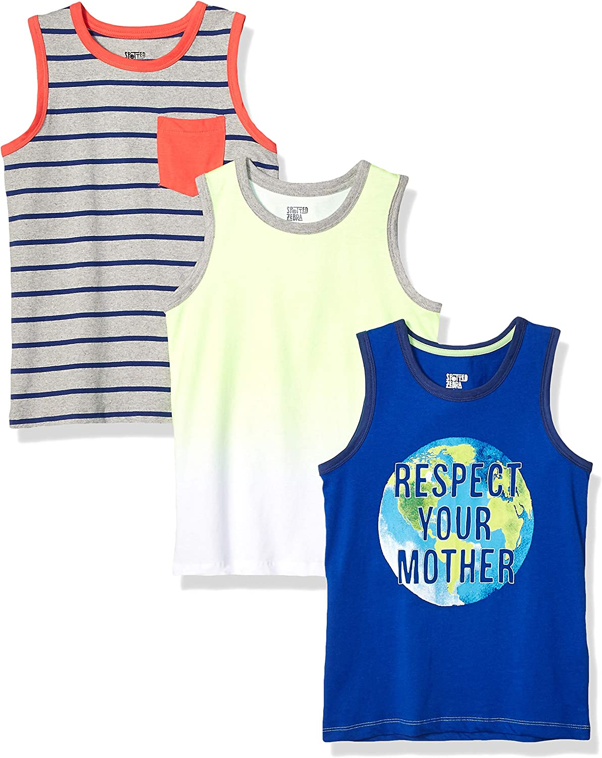 Spotted Zebra Boys Active Tank and Shorts Set Brand