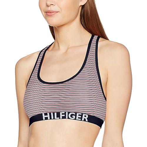 Tommy Hilfiger UW0UW00029, Sujetador Deportivo Para Mujer